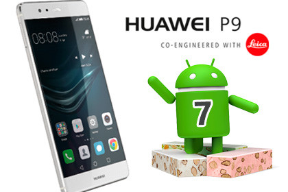 Huawei P9 - Android 7