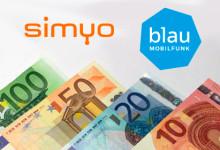 simyo - Migration zu Blau