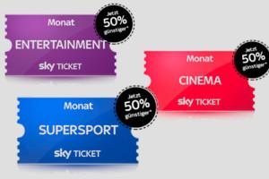 SKY Ticket 50% Bonus