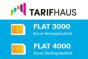 Tarifhaus passt Smartphone Tarife für Bunte, Superillu, Chip und TV Spielfilm an
