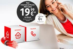 Vodafone mit neuen Kabel Internet Tarifen – Günstiger und besser