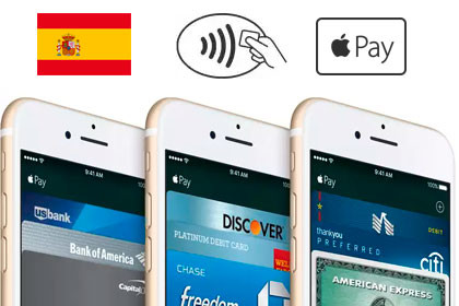 Apple Pay in Spanien