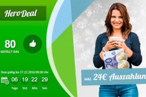 SIM-Only Deal bei Modeo: Base All-In M für 9,99 Euro plus Barauszahlung und weitere günstige Angebote