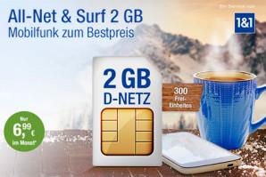 1&1 ändert erneut Web.de und GMX Mobilfunk Tarife