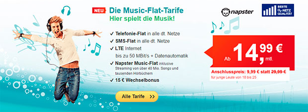 Hellomobil - Music Flat Tarife