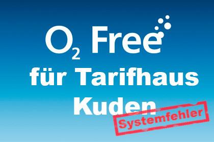 o2 Free für Tarifhaus Kuden