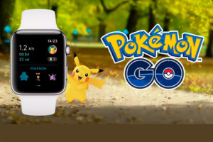 Pokemom GO - Apple Watch