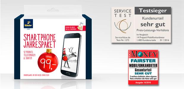 Smartphone Jahres Paket