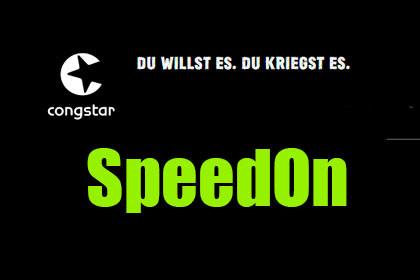 Congstar - SpeedOn