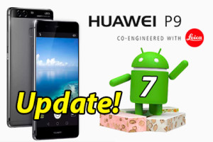 Huawei P9 Android 7 Update