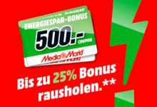 MediaMarkt 25 Prozentsatz Bonus