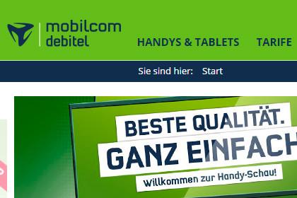 mobilcom-debitel - Online Shop
