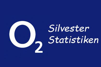 o2 - Silvester Statistiken