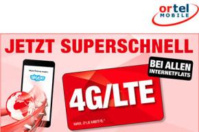 """Ortel Mobile nun mit LTE – Allerdings nicht """"superschnell"""""""