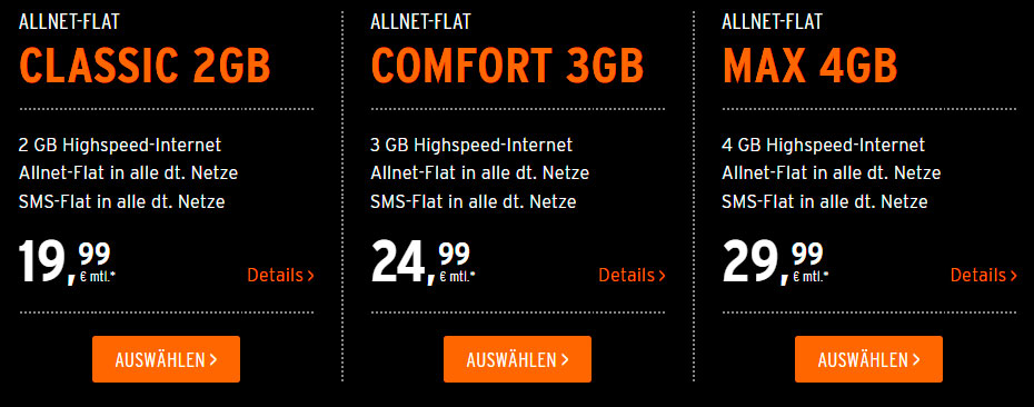 Otelo Allnet-Flat Tarife