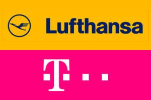 Telekom und Lufthansa