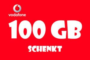 Vodafone 100 GB Gesenkt