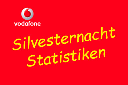 Vodafone - Silvesternacht Statistiken