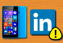 Windows Phone - Linkedin