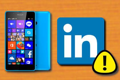 Windows Phone - Linkedin