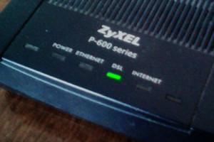 ZyXel DSL Modem