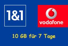 1&1 - 10 GB - 7 Tage