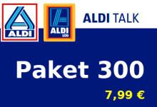 Aldi-Talk - Paket 300