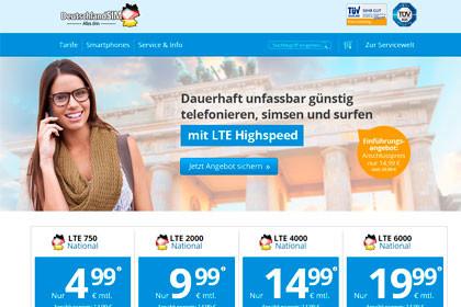 Die neuen DeutschlandSIM Tarife