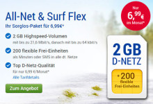 GMX - All-Net & Surf-Flex 2 GB