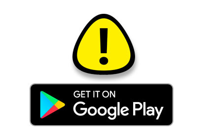 Google Play Warning