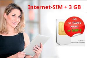 InternetSIM.de – Ettliche neue Datentarife in den NEtzen von Vodafone und Telekom