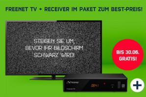 Deal – Freenet DVB-T 2 jetzt bestellen und bis Juni kostenlos nutzen