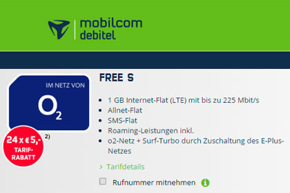 mobilcom-debitel - o2 Free S
