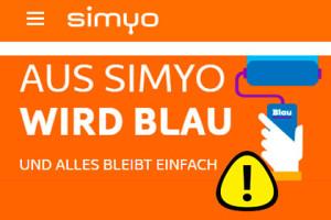 Simyo Kunden Guthaben