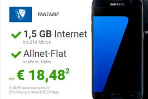 Karnevals Deal bei Sparhandy: Samsung Galaxy S 7 günstiger als umsonst