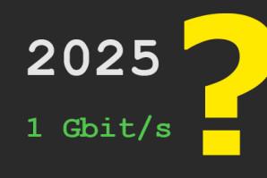 Gigabit Deutschland – Politik und Branche einigen sich auf 1 Gbit/s flächendeckend ab 2025
