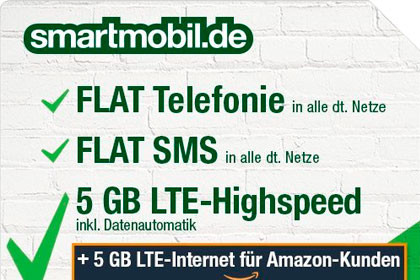 Amazon - Smartmobil Aktion
