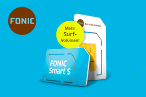 Fonic erhöht Datenvolumen für Fonic Smart S