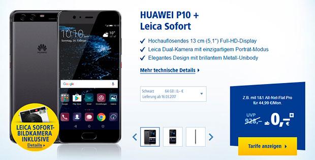 Huawei P10 + Leica Kamera