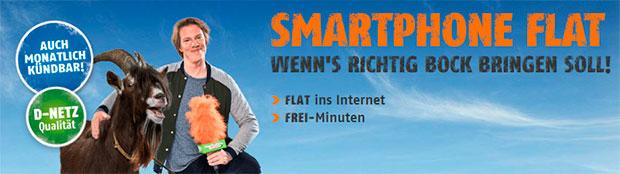 klarmobil - Smartphone-Flat