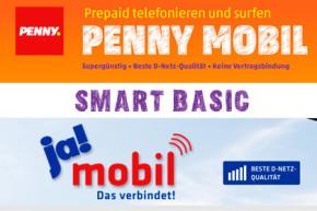 ja! mobil und PENNY mobil – Smart Basic Tarif dauerhaft günstiger