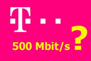 Telekom – Bald mit 500 Mbit/s Glasfaseranschlüssen?