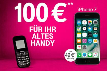 f r magenta mobil vertr ge 100 euro f r das alte smartphone. Black Bedroom Furniture Sets. Home Design Ideas
