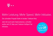 Telekom - mehr Speed