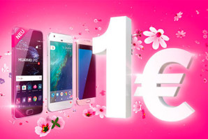 Telekom Aktion – Topp Smartphones für 1 Euro zum MagentaMobil Vertrag