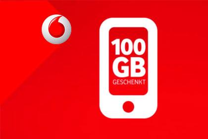 Vodafone - 100 GB