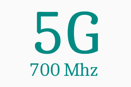 5G - 700 Mhz