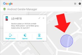 So finden Sie ihr verlorenes Android Smartphone wieder oder löschen Ihre Daten
