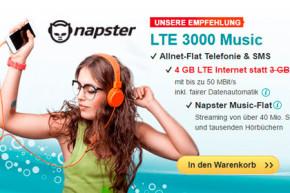 helloMobil LTE Music Flatrates mit erhöhtem Inklusivvolumen