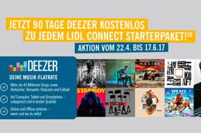 Deezer – Für LIDL Connect Kunden 90 Tage kostenlos